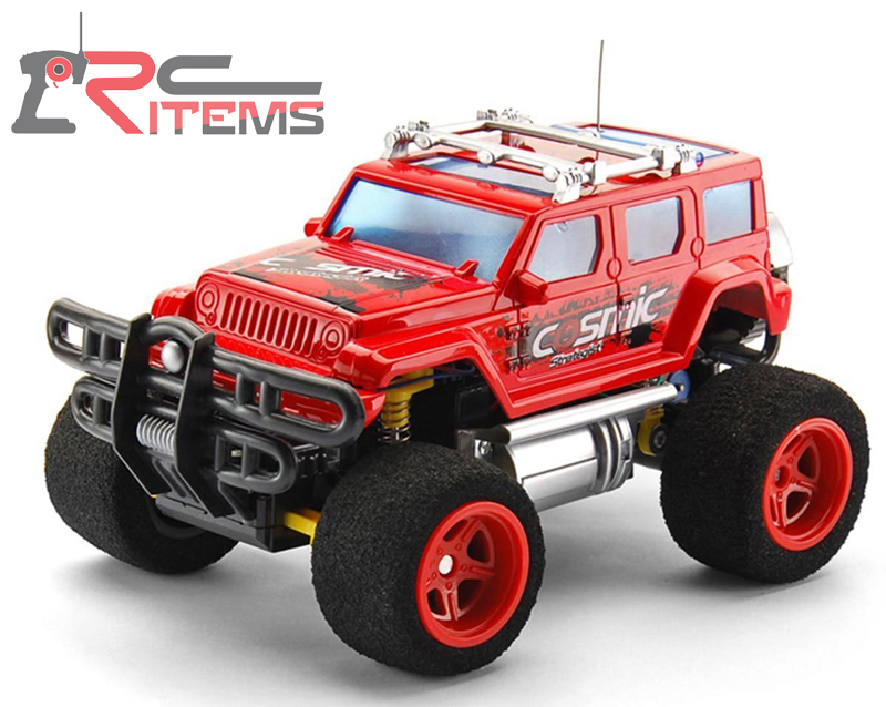 Lutema Cosmic Rocket 4CH Remote Control Truck