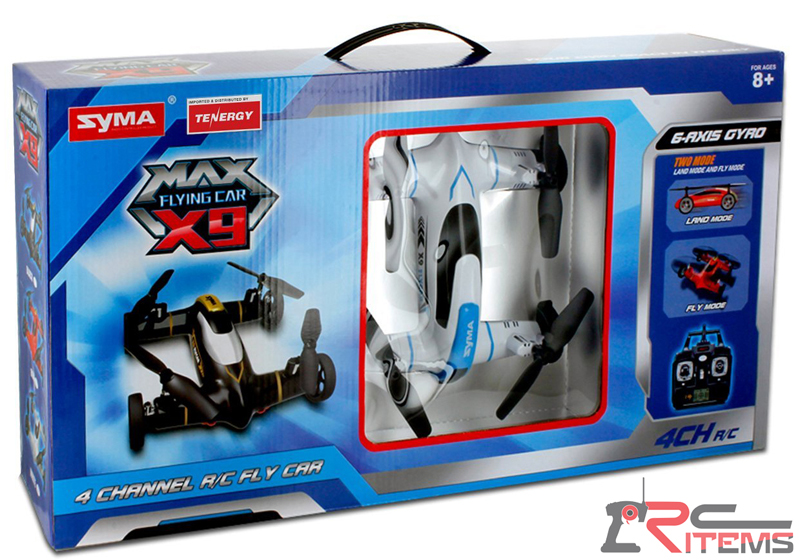 Syma X9 Fly Car 4 Channel 2.4Ghz RC Quadcopter