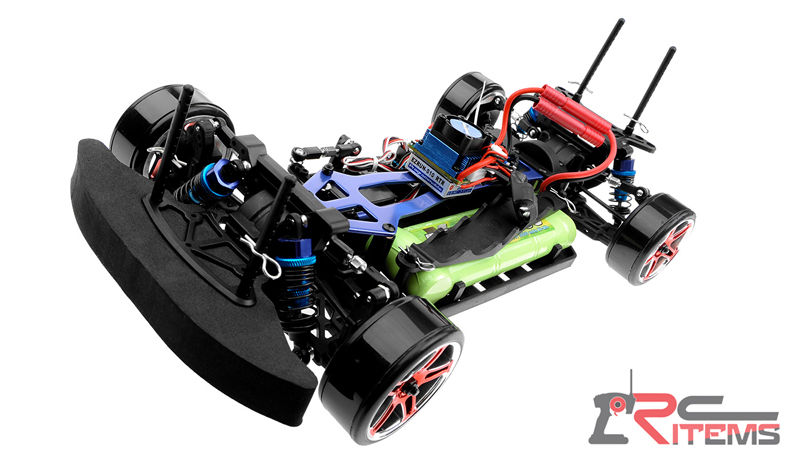 Electric RC Car Detail